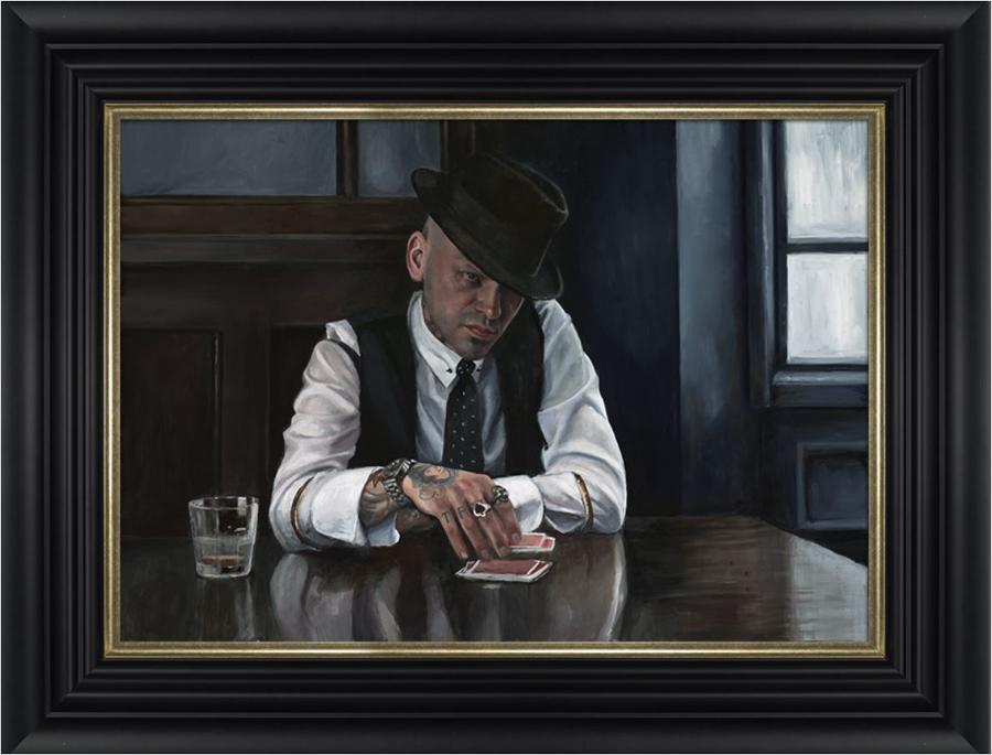 Let The Cards Decide by Vincent Kamp - Framed