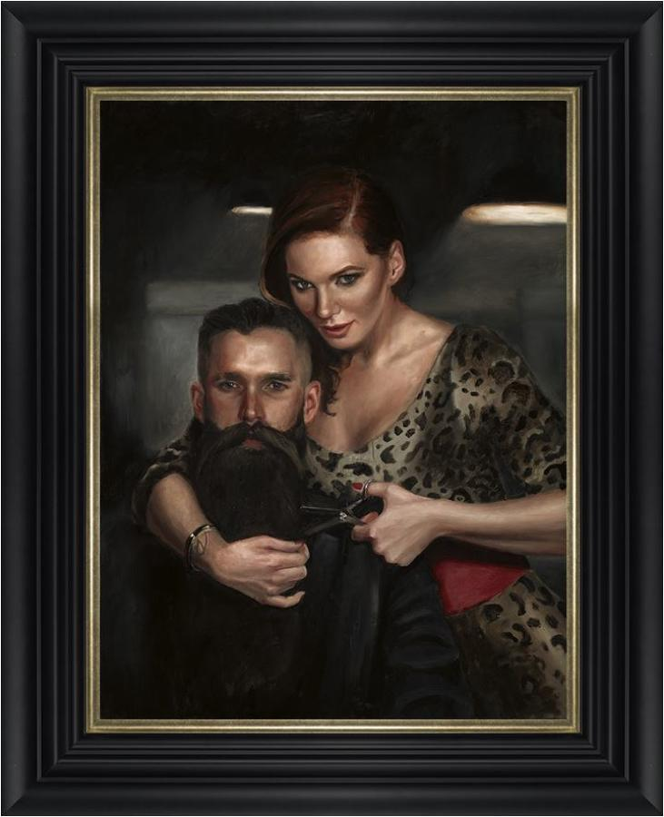 Final Cut by Vincent Kamp- Framed