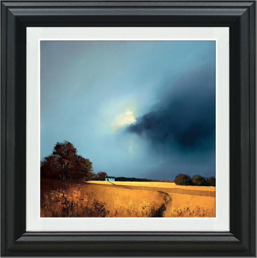 Barry Hilton Golden Fields of Home Framed Canvas Art Print