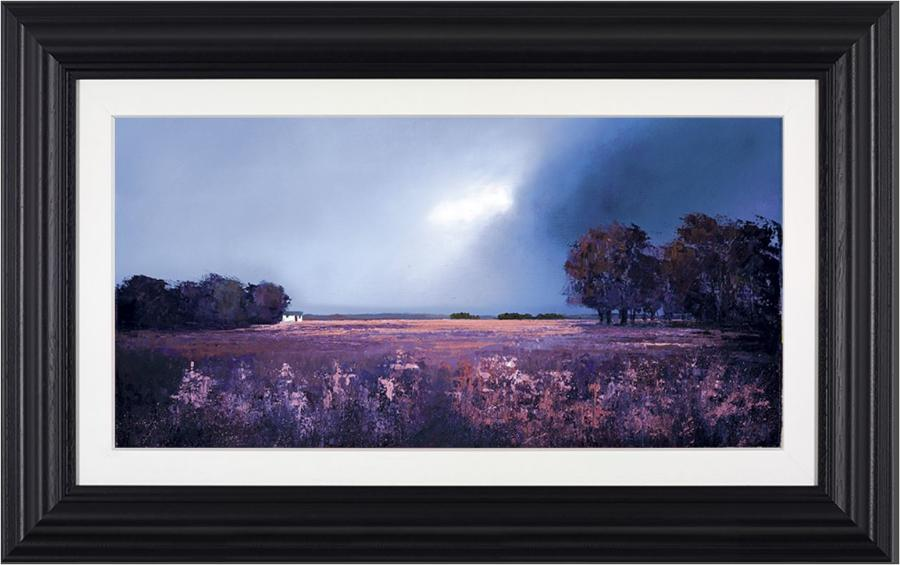 Barry Hilton Shades of Dusk Framed Canvas Art Print