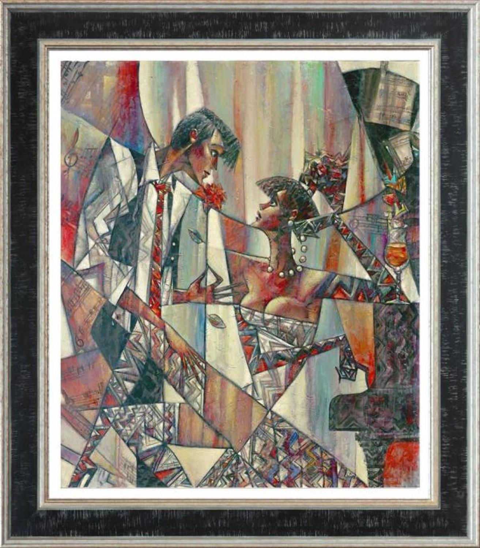 Andrei Protsouk Silent Note Framed Canvas Art Print