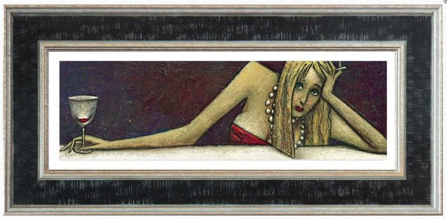 Andrei Protsouk A Long Day Framed Art Print
