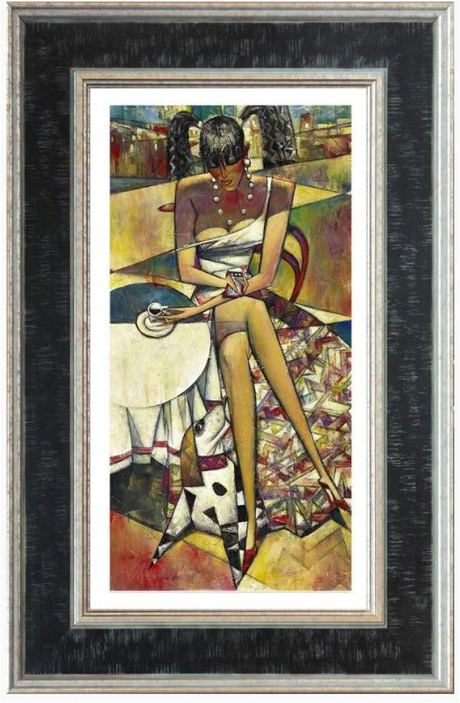Andrei Protsouk Textspresso Framed Canvas Art Print