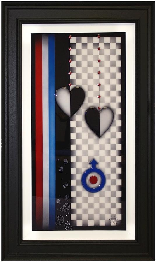 For The Love Of Mod Framed Art By Kealey Farmer