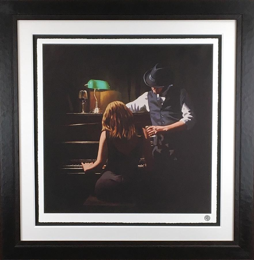 Play It Again Framed Art Print by Richard Blunt
