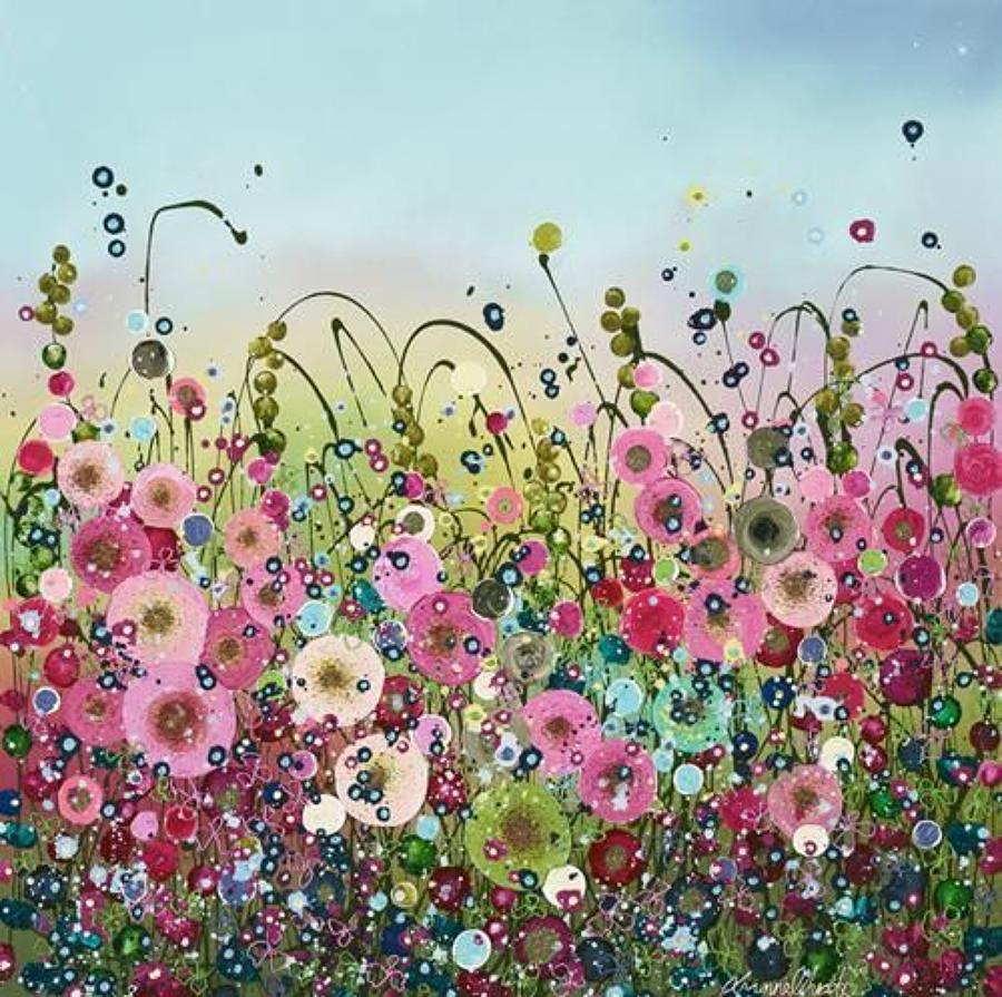 Sweethearts Framed Art Print by Leanne Christie