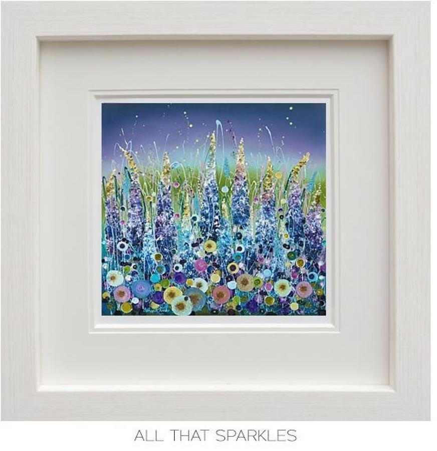 All That Sparkles Framed Art Print by Leanne Christie
