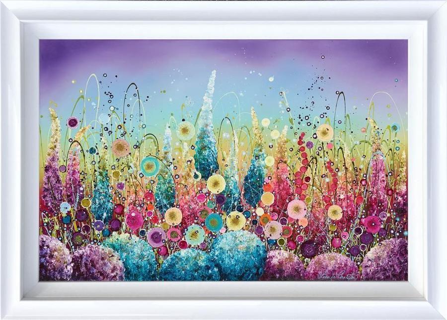 Wild Rainbow Framed Art Print by Leanne Christie