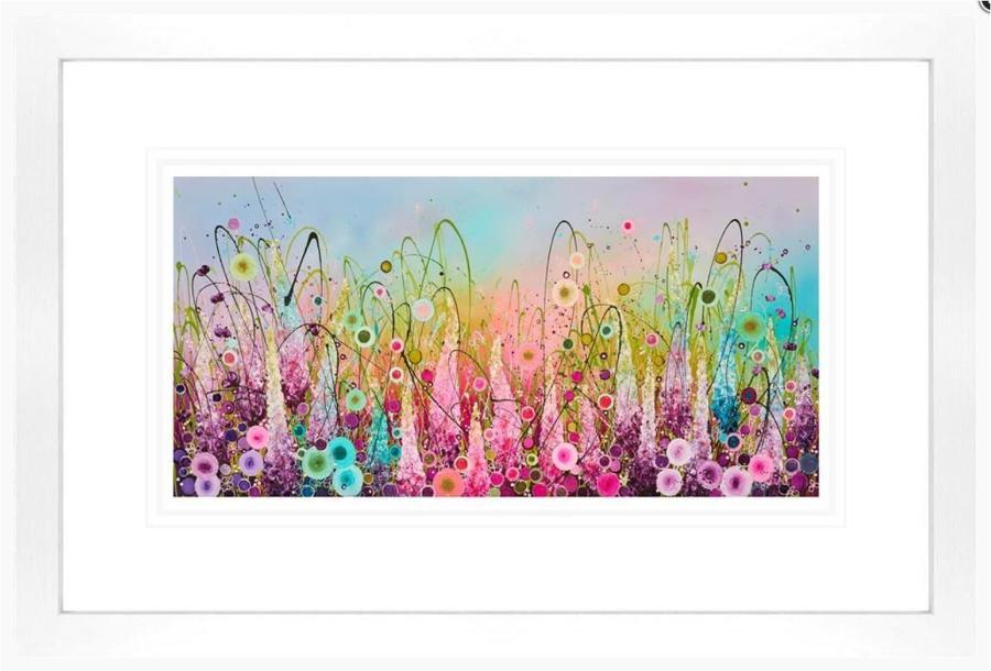 Chasing Rainbows  Framed Art Print by Leanne Christie