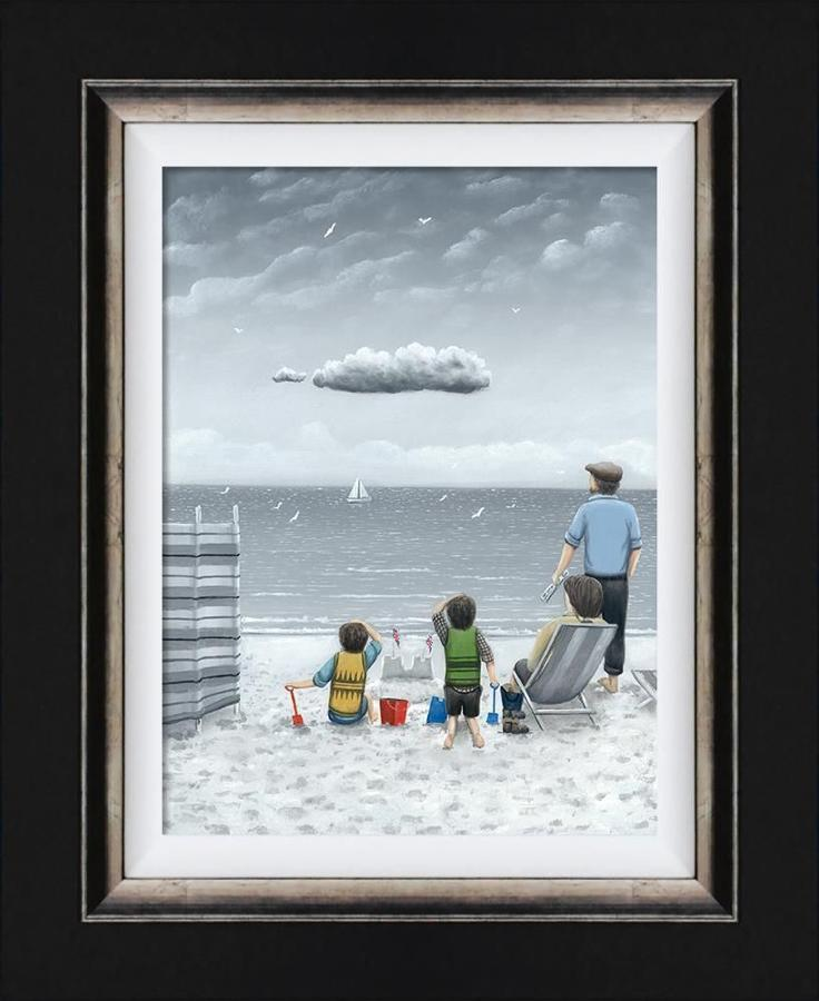 Trouble On The Horizon By Leigh Lambert-Canvas