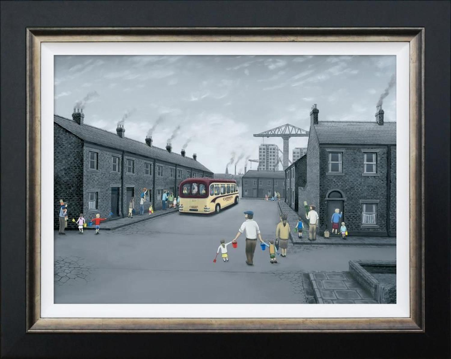 All Aboard For The Seaside By Leigh Lambert Canvas
