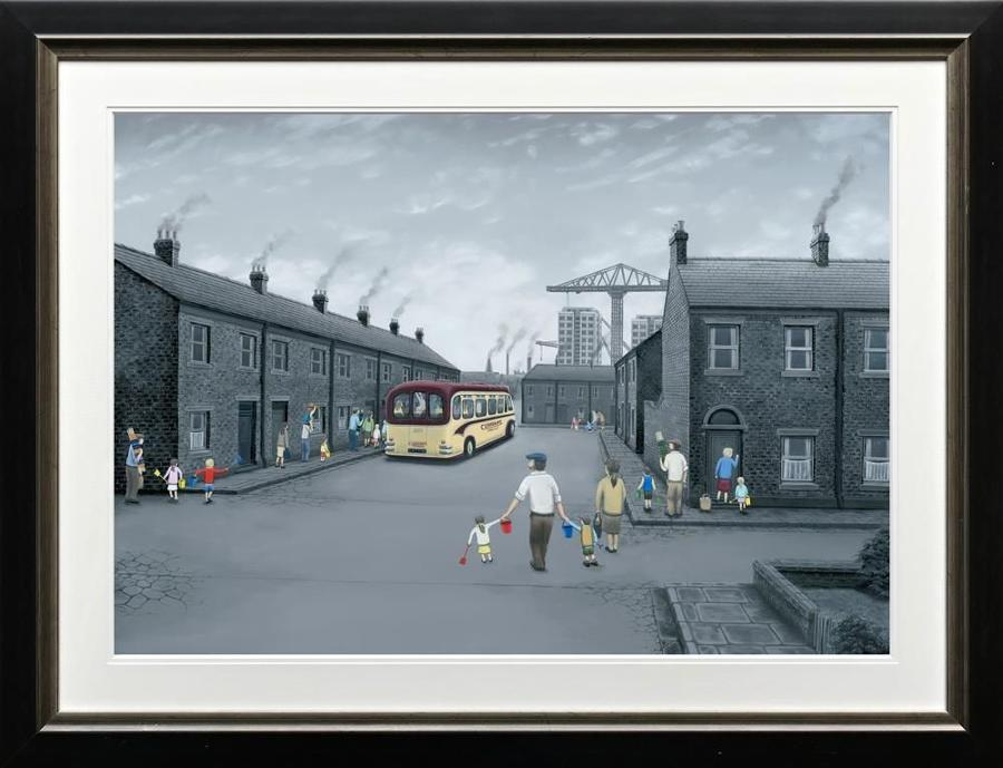 All Aboard For The Seaside By Leigh Lambert- Paper
