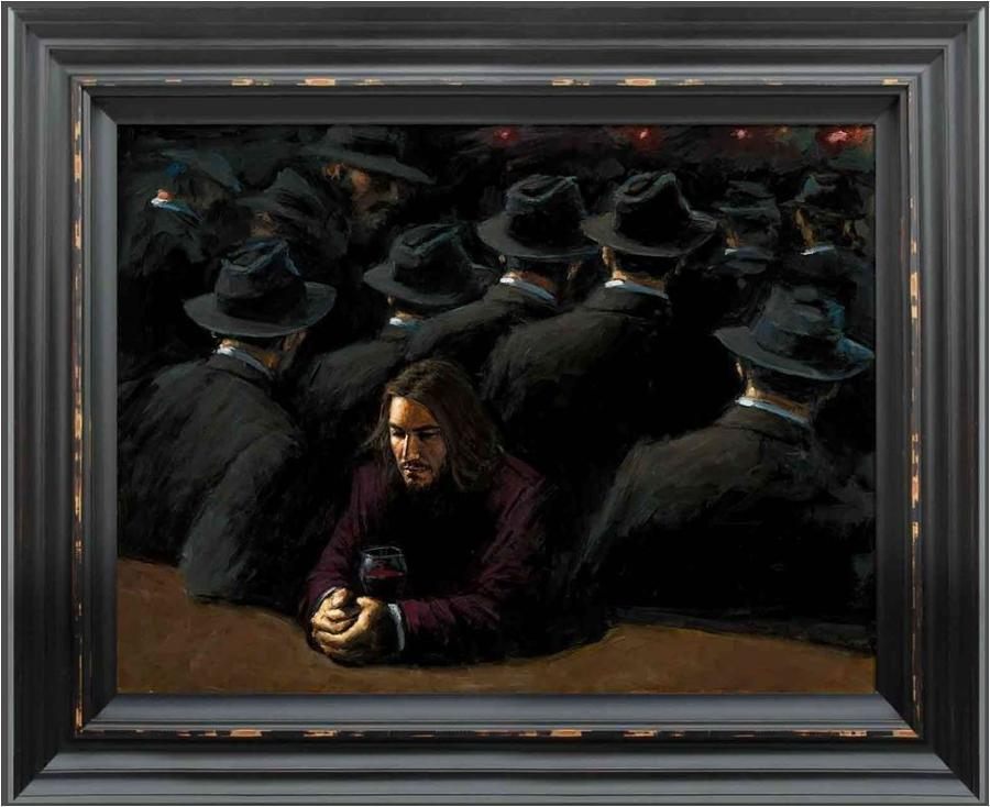 Fabian Perez - Untitled II Young Framed Art Print