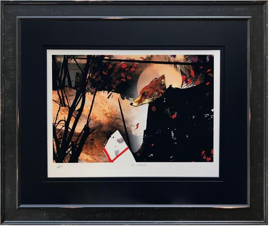 St George Framed Art Print by Harry Bunce