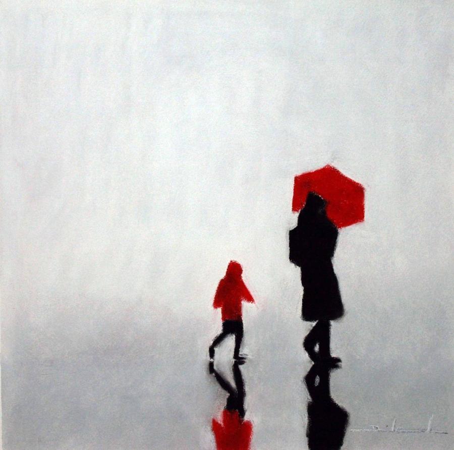 Me And My Mum Framed Art Print David Cowden