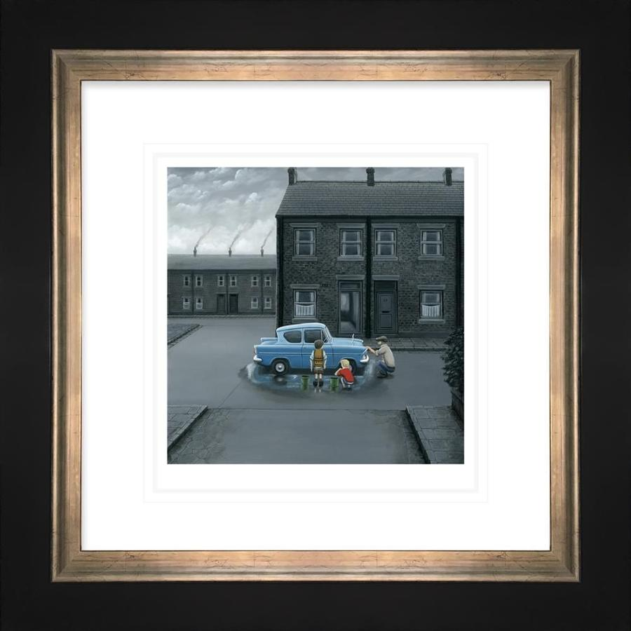 You've Missed A Bit Framed Art Print by Leigh Lambert