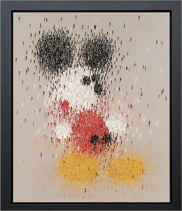 Craig Alan - Mouseketeer Framed Art Print