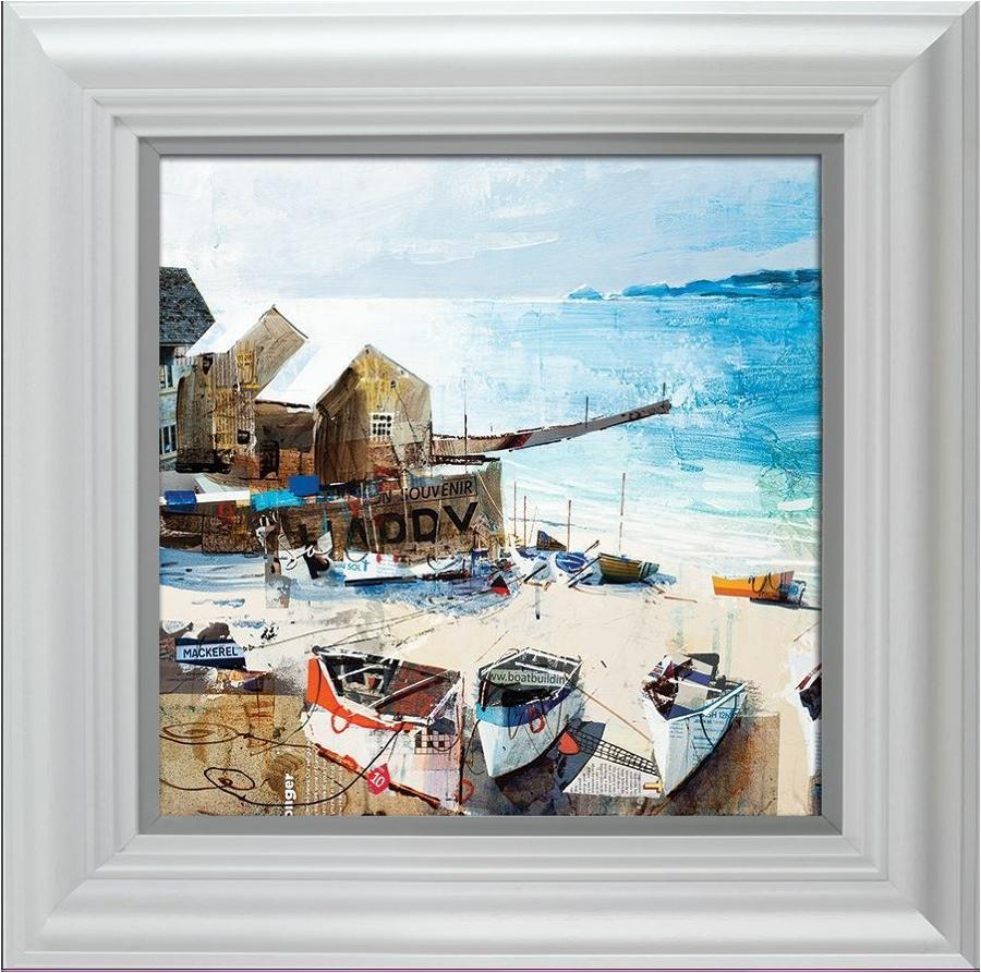 Reflections, Sennen Cove by Tom Butler