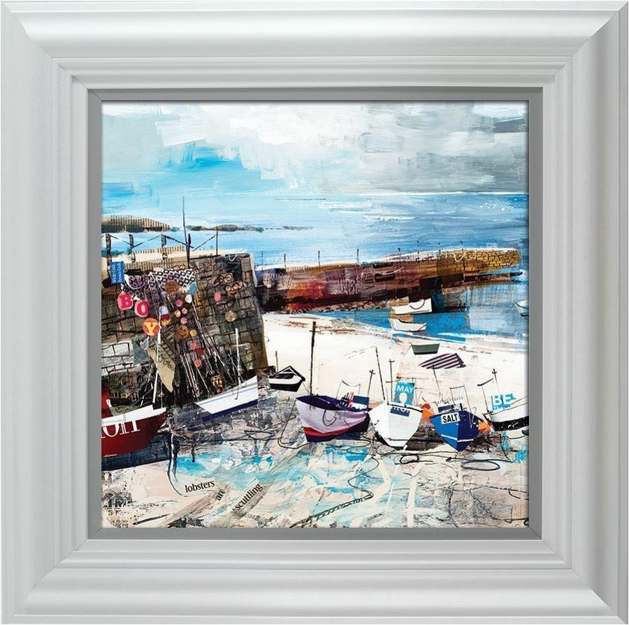 Sennen Cove Boats by Tom Butler