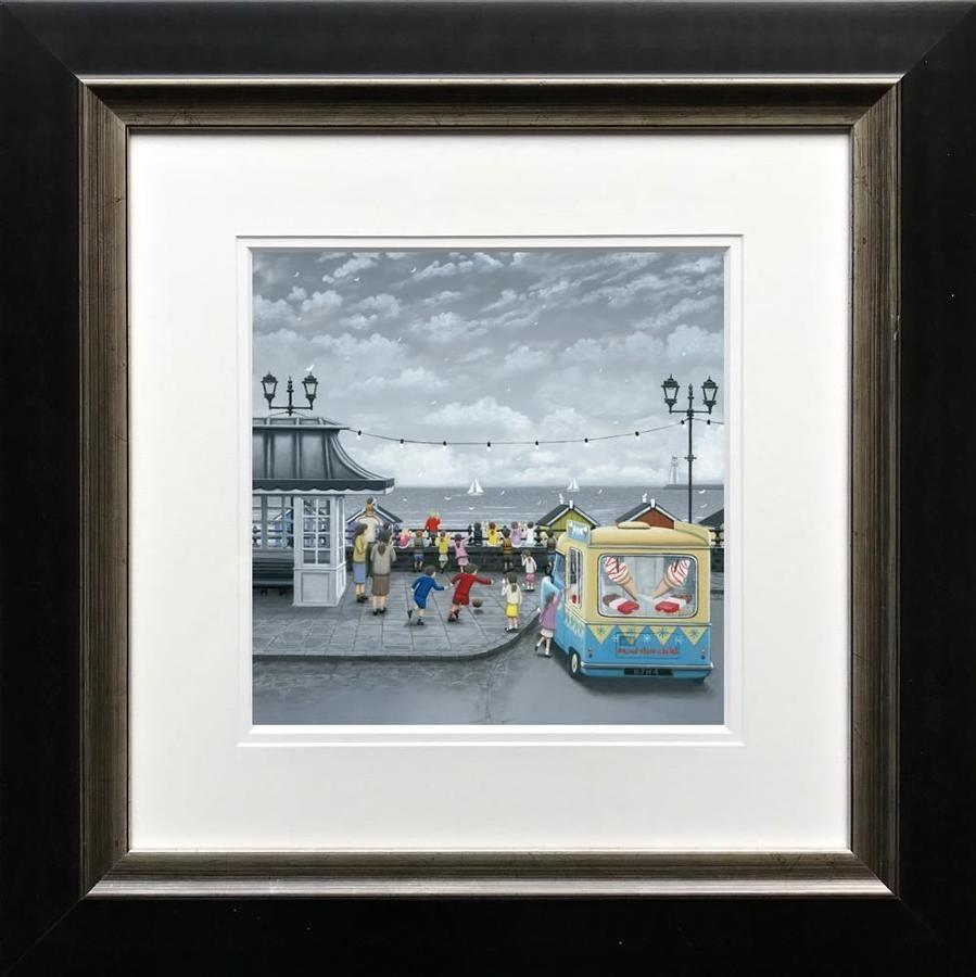 99's All Round Framed Art Print Leigh Lambert