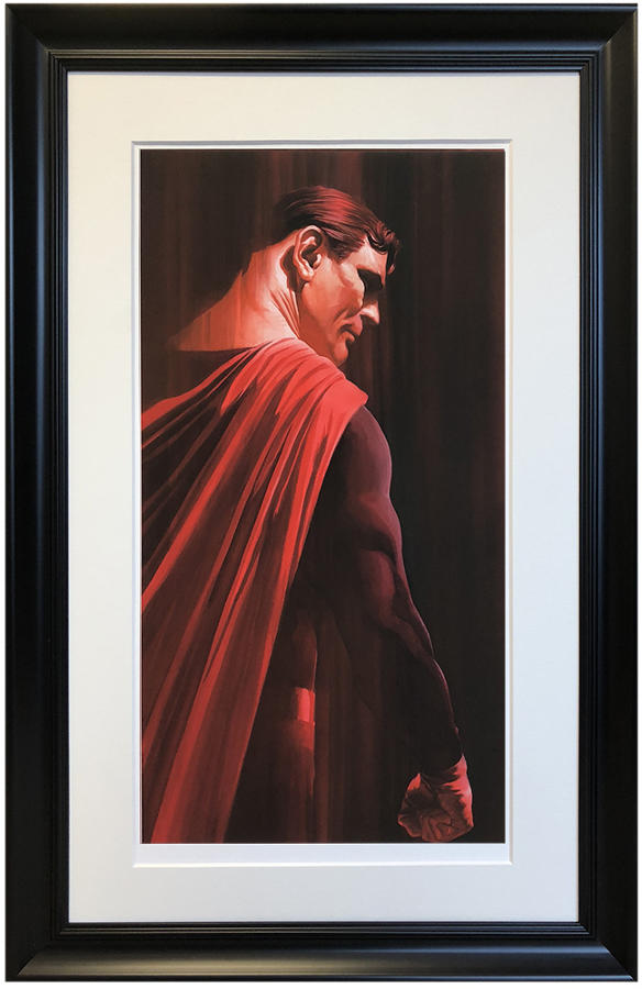 Alex Ross - Superman - Framed Art Print