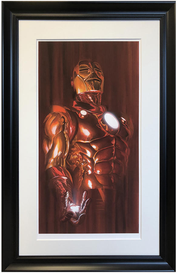 Alex Ross - Iron Man - Framed Art Print