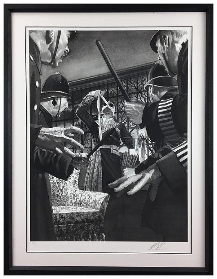 Alex Ross - The Invisible Man - Framed Art Print