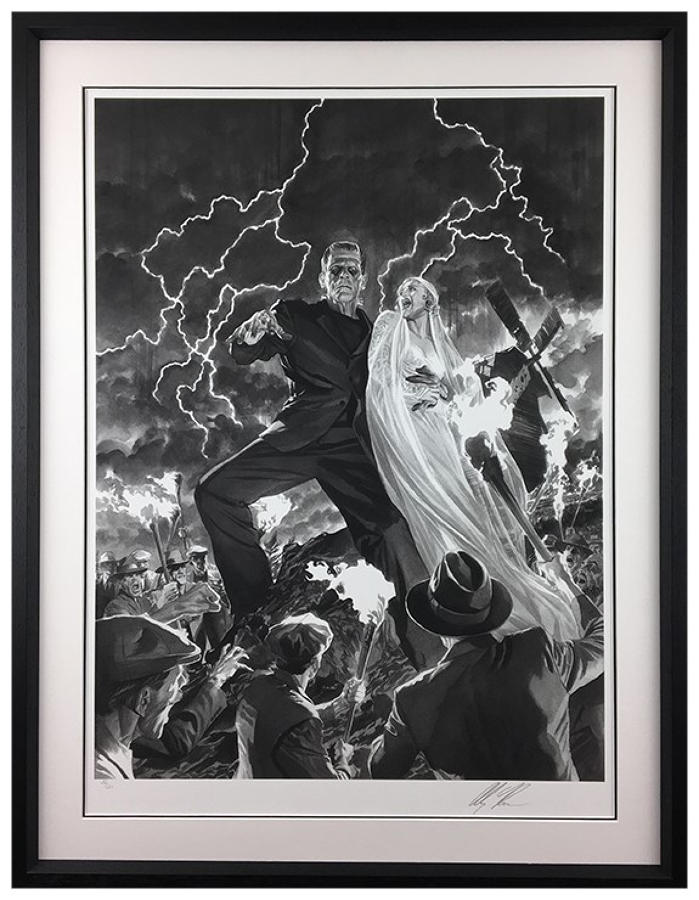 Alex Ross - Frankenstein - Framed Art Print