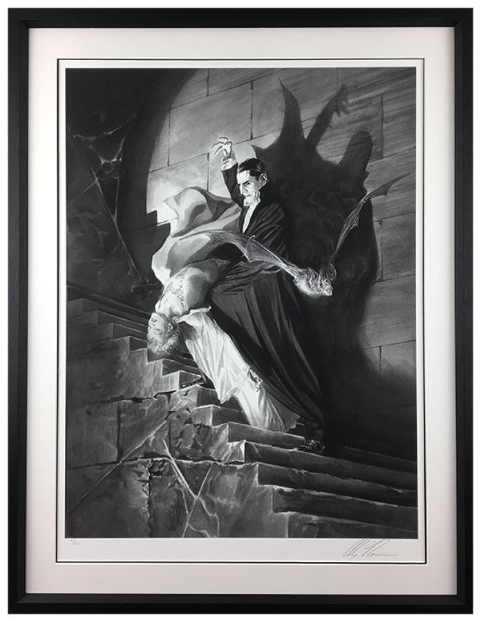Alex Ross - Dracula - Framed Art Print