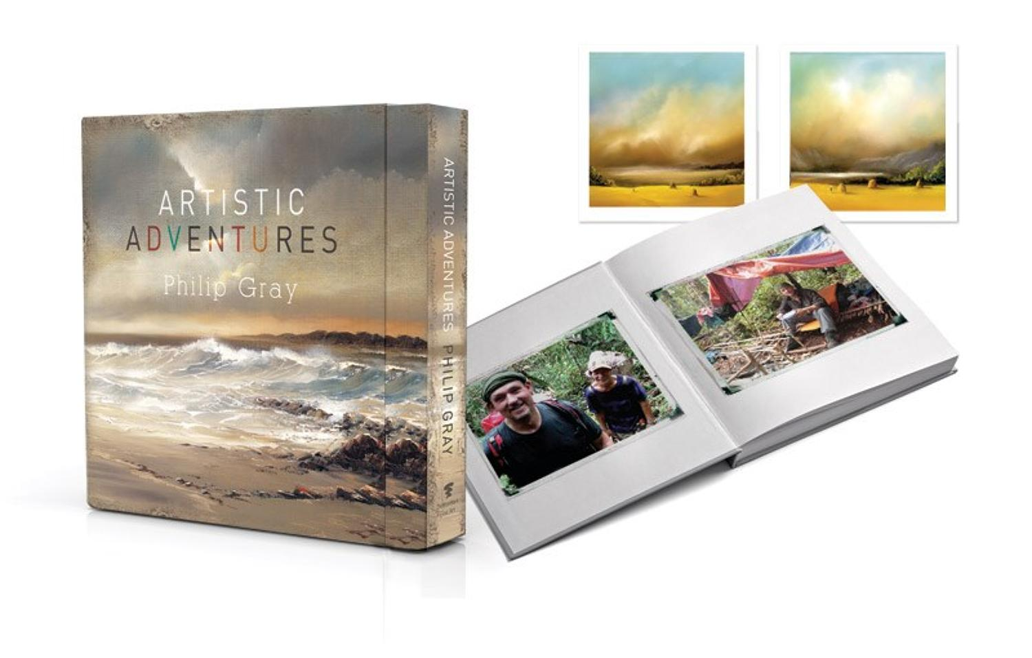 Artistic Adventures Ltd Edition Book By Philip Gray