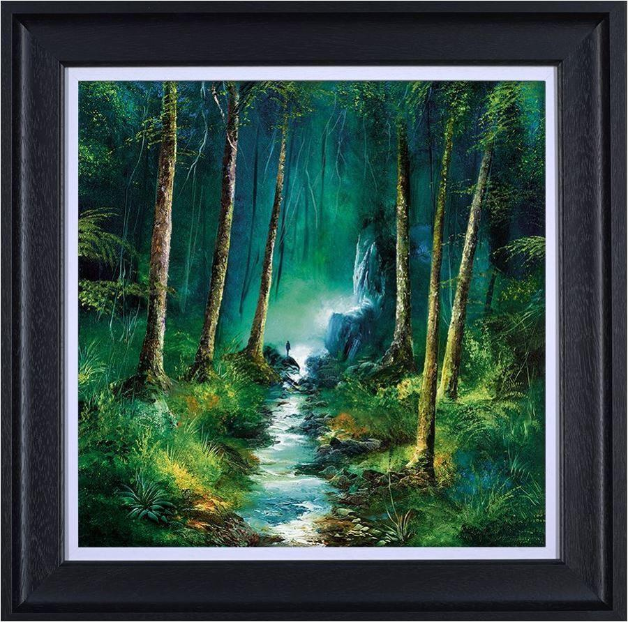 Philip Gray - Forest of Light -Framed Art Print