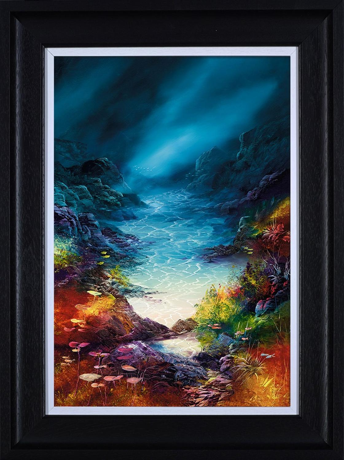 Philip Gray - Into The Blue Framed  Art Print