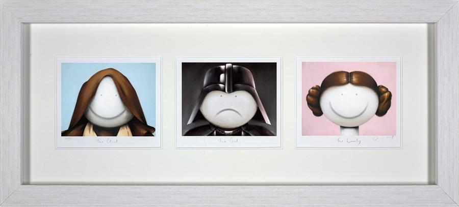 Doug Hyde - The Good, The Bad, The Lovely Framed Art Print