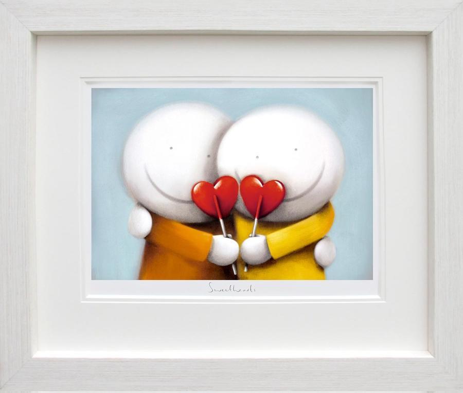 Doug Hyde - Sweethearts -  Framed Art Print