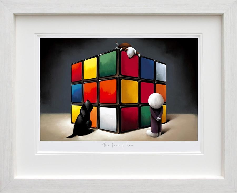 Doug Hyde-The Faces of Love Framed Art Print