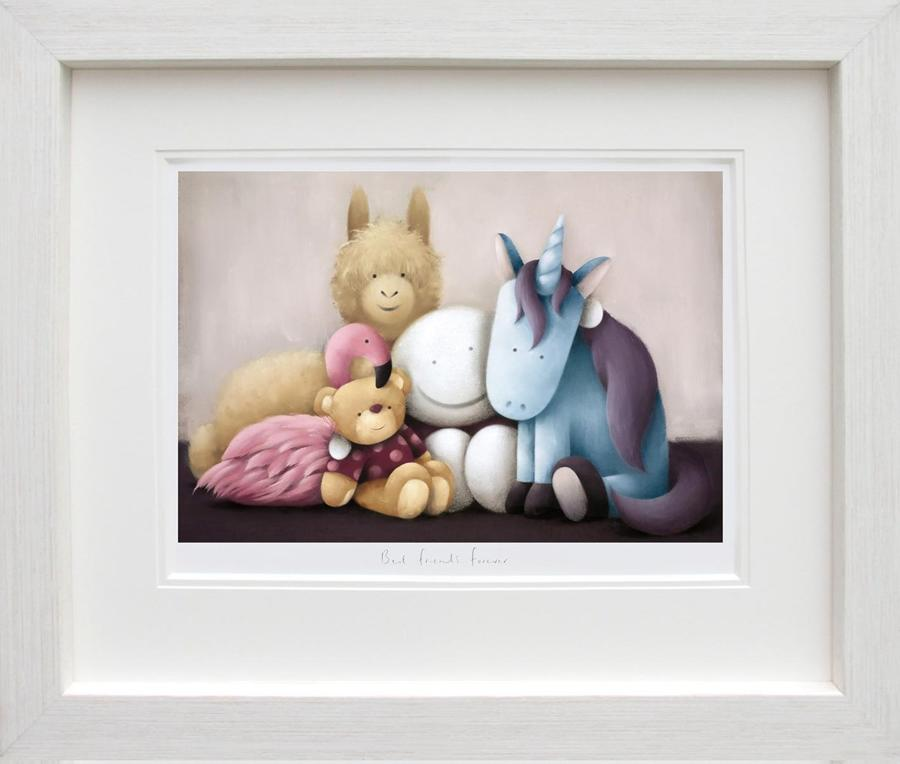 Doug Hyde-Best Friends Forever Framed Art Print