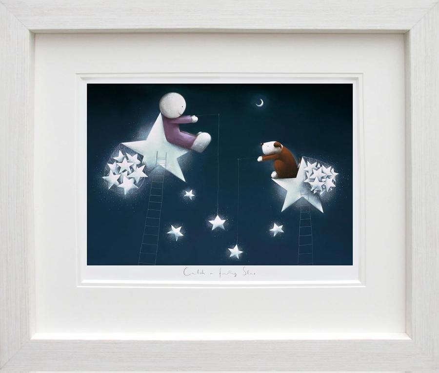 Doug Hyde-Catch a Falling Star Framed Art Print