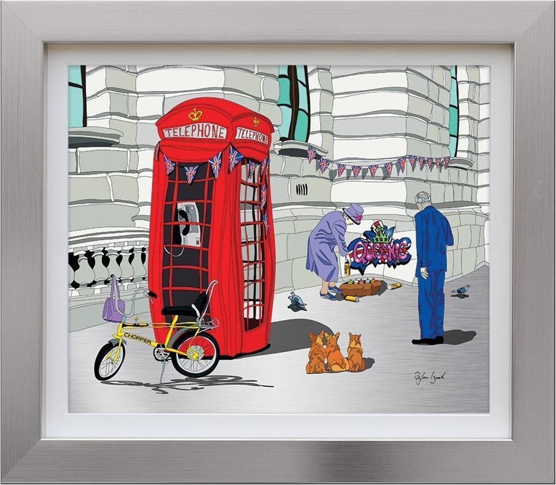 Queenie Framed Art Print by Dylan Izaak