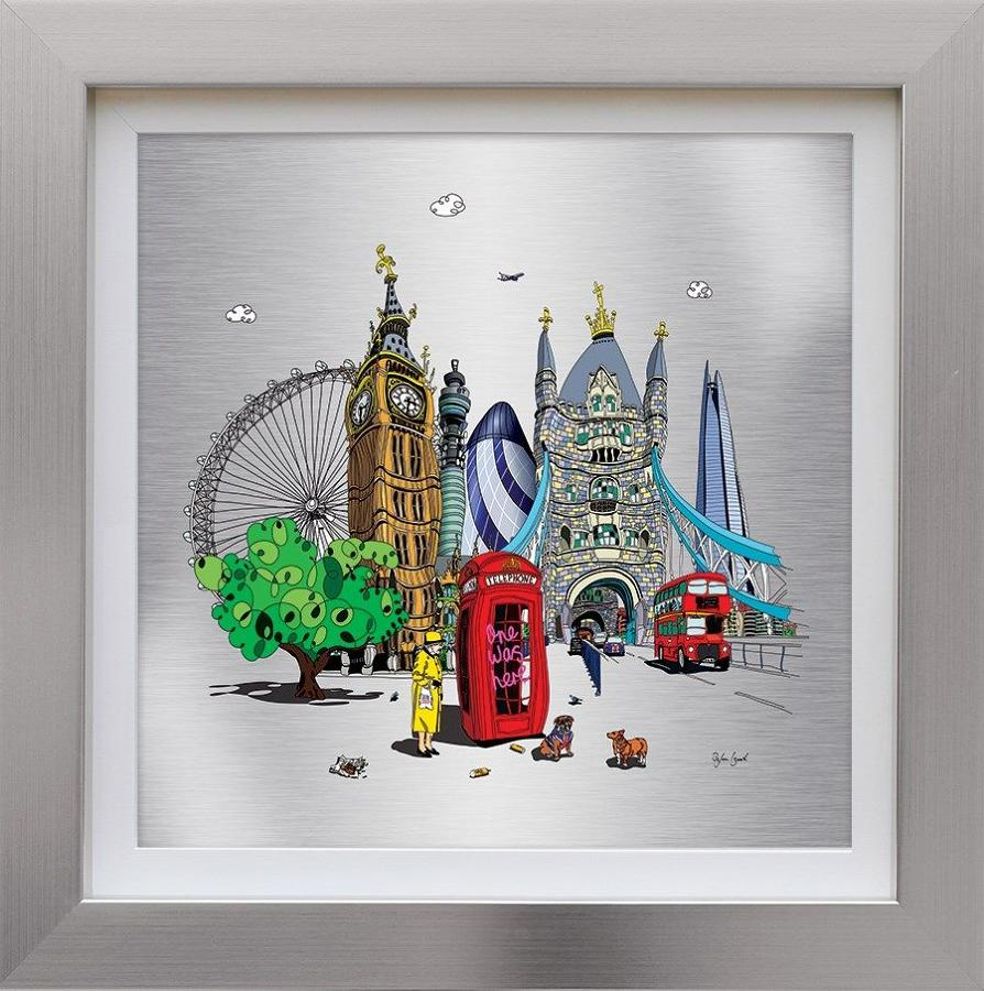 One Was Here Framed Art Print by Dylan Izaak