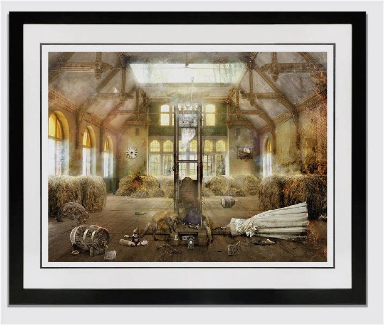 Rumposilshkin Framed Art Print by Mark Davies