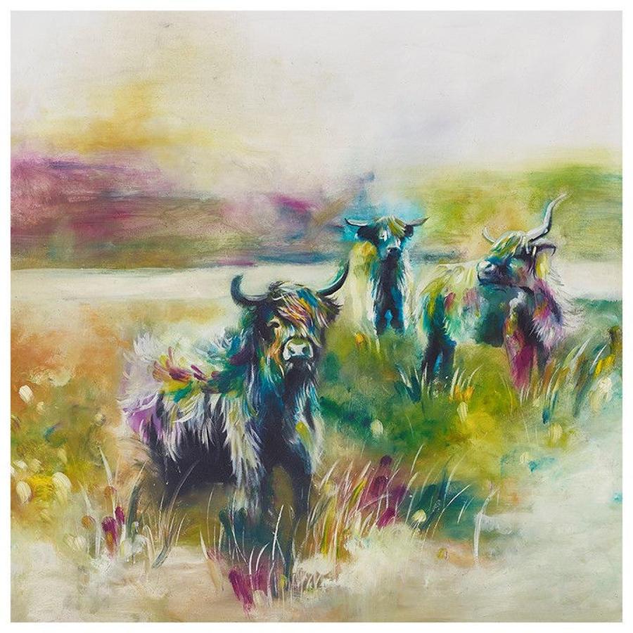 The Highlands Framed Art Print Katy Jade Dobson