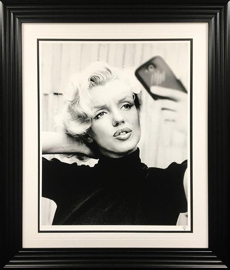 JJ Adams - Monroe Selfie - Framed Art Print