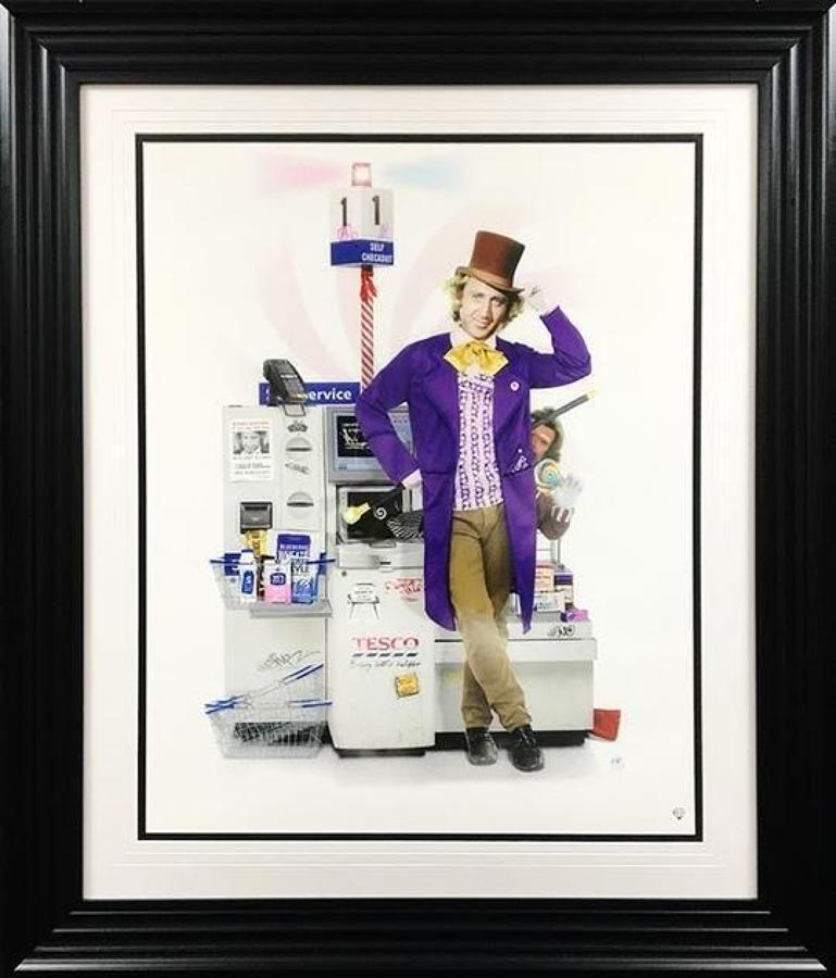JJ Adams - Every Little Helper - Framed Art Print
