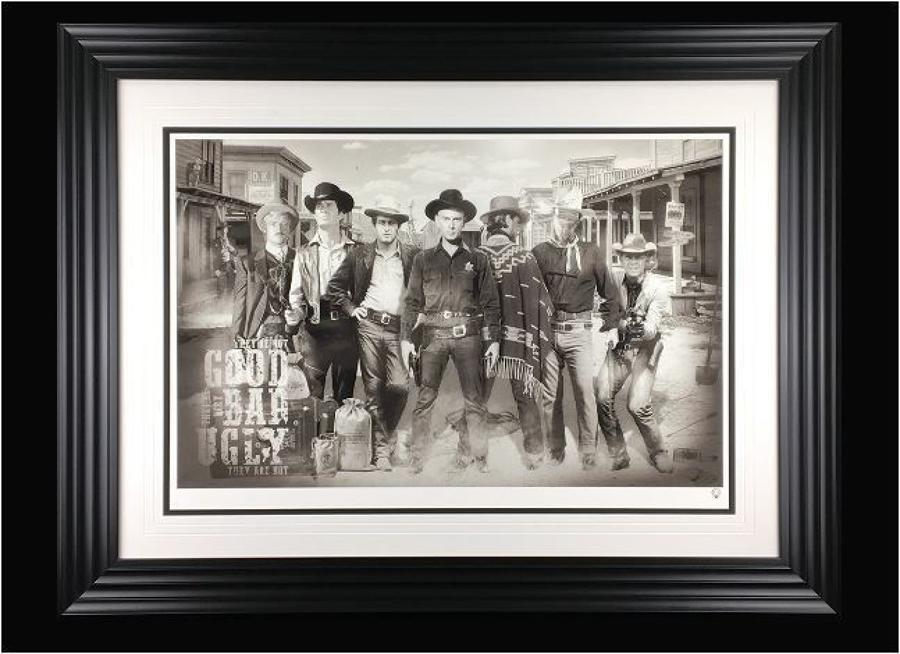 JJ Adams - The Good, The Bad & The Ugly - Framed Art Print