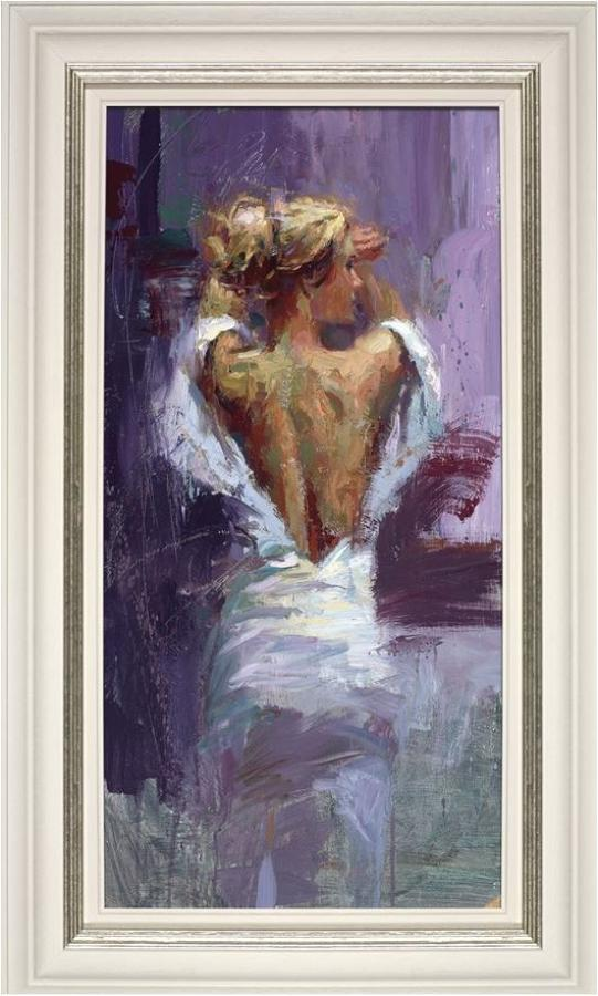 Elegance of the Night Framed Art Print By Henry Asencio
