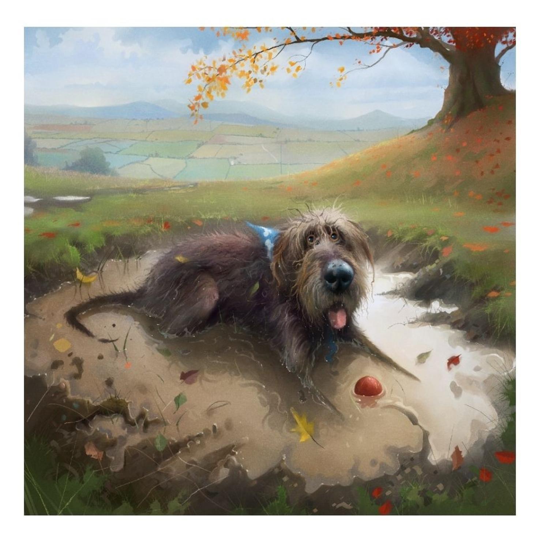 Stephen Hanson-Ball Pool Art Print