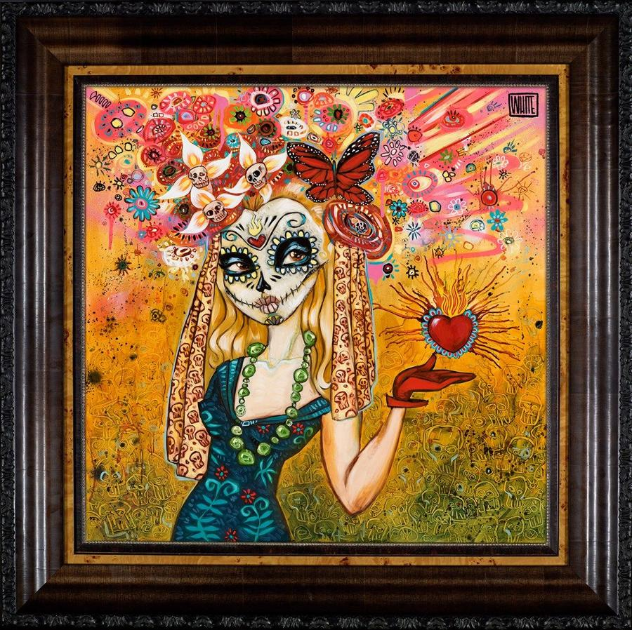 Idle Hands Framed Art Print by Todd White