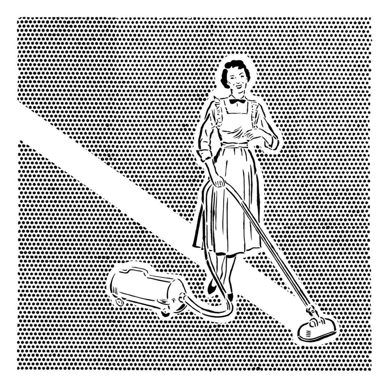 Lichtenstein's Cleaner Art Print By Joe Webb