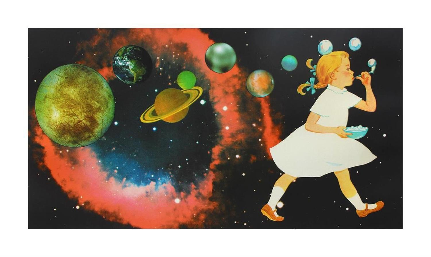 Joe Webb - Playing God Art Print
