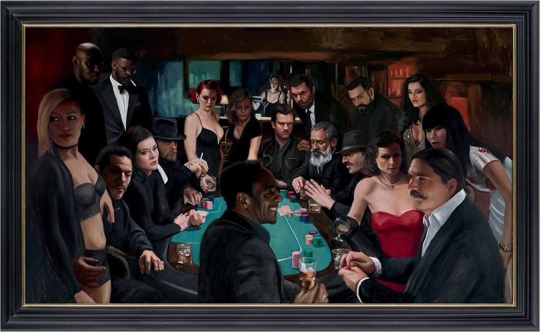 The Long Game Framed Art Print by Vincent Kamp